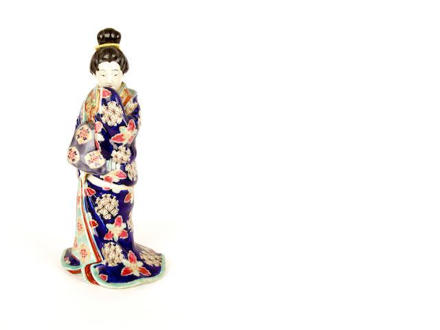 A Japanese erotic figure