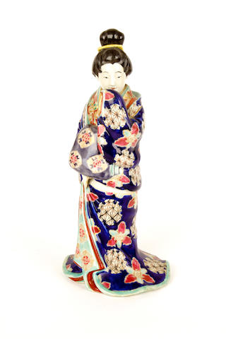 A Japanese erotic figure