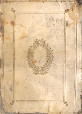 PETRARCA (FRANCESCO) [Sonetti e canzoni], Venice, 1538