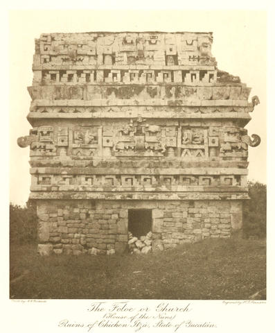 RICKARDS (CONSTANTINE GEORGE) The Ruins of Mexico, vol. one [all published], 1910; and 2 volumes by Marcoy (3)