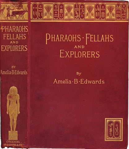 EGYPT EDWARDS (AMELIA B.) A Thousand Miles Up the Nile, 1877; and 4 others, Egypt (5)