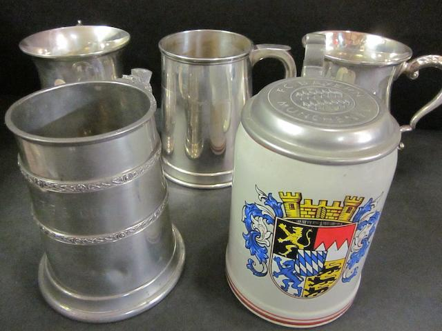 Tankards, two c/league, two UEFA, one anglo