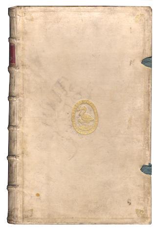 DUTCH PRIZE BINDING DIONYSIUS HALICARNASSUS [Opera], 1691