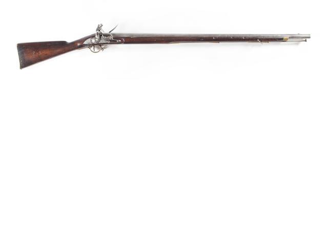 Flintock musket lion crest