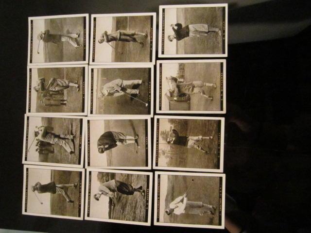 Cigarette Cards: WA & CA Churchman 'Famous Golfers' circa 1928