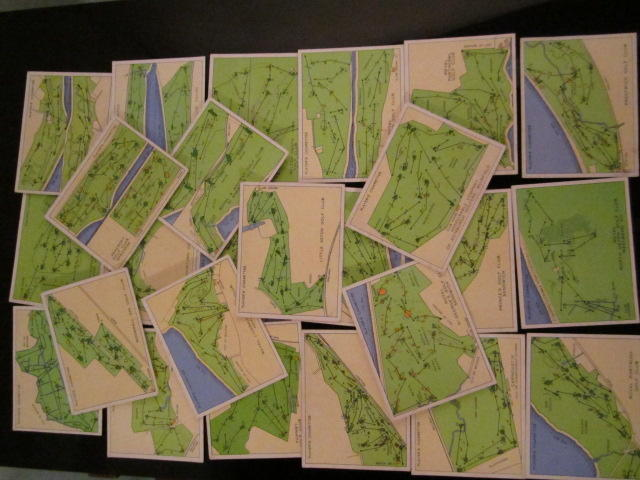 Cigarette Cards: John Player 'Championship Golf Courses' circa 1936