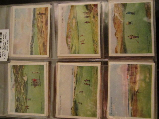 Cigarette Cards: Wills 'Golfing' circa 1924