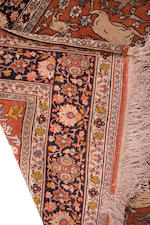 A Tabriz pictoral rug North West Persia, late 19th century 187 x 136cm.