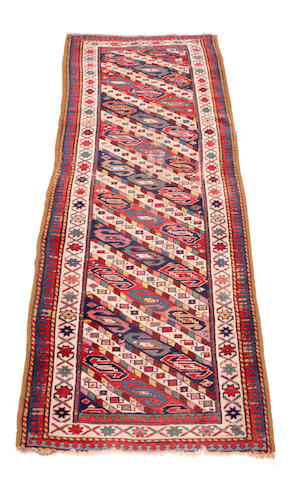 A South Caucasian runner 285 x 98cm.