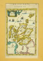 MAP - SCOTLAND [DE VAUGONDY (DIDIER ROBERT)] L'Ecosse divisee en Shires ou Comtes, Par le Sr. Robert Geographe ordinaire du Roi. Avec Privilege