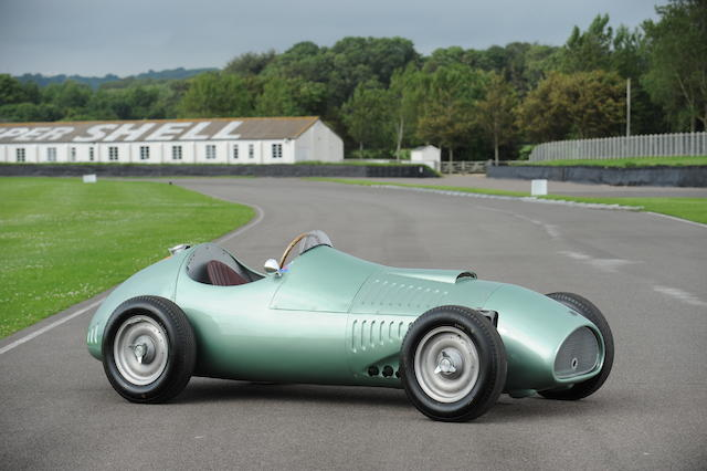 The ex-Works, ex-Bill Morris,1954 Kieft-Climax V8 Formula 1 Racing Single-Seater  Chassis no. GP1 Engine no. EXP1