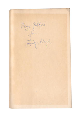 "WAUGH (EVELYN) Vile Bodies; Decline and Fall; A Handful of Dust; Black Mischief AUTHOR'S PRESENTATION COPIES, INSCRIBED ""TO PEGGY GATFIELD FROM EVELYN WAUGH"", Chapman & Hall, 1937 (4)"
