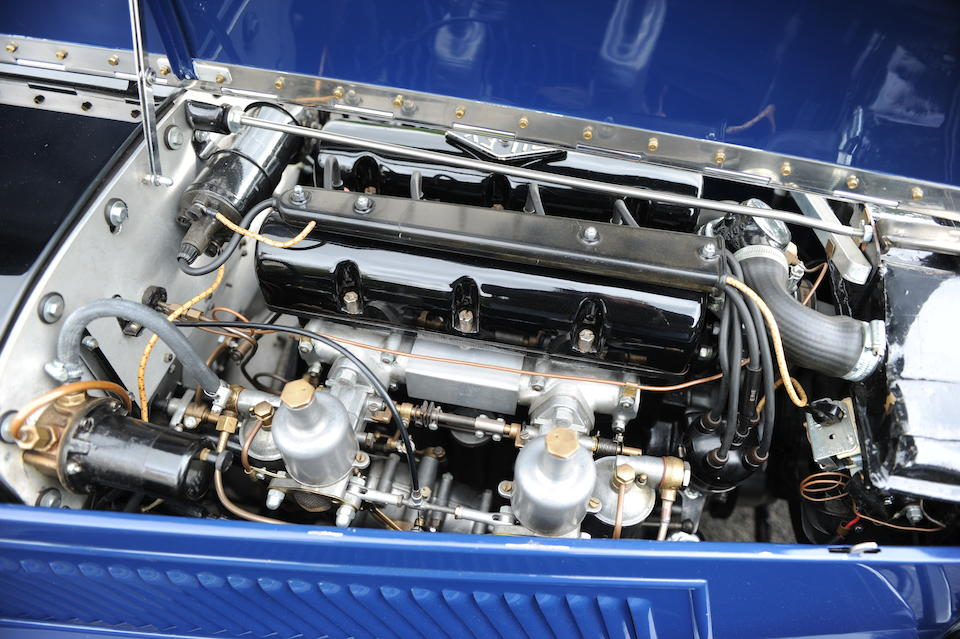 1935 Riley 1½-Litre Kestrel  Chassis no. 22T 1238 Engine no. SL 4168