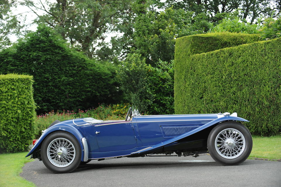 1935 Riley 1½-Litre Kestrel  Chassis no. 22T 1238 Engine no. SL 4168