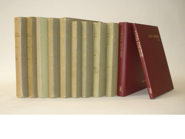 Auto Course; Volumes 1 to 10 (1951 to Dec 1960),