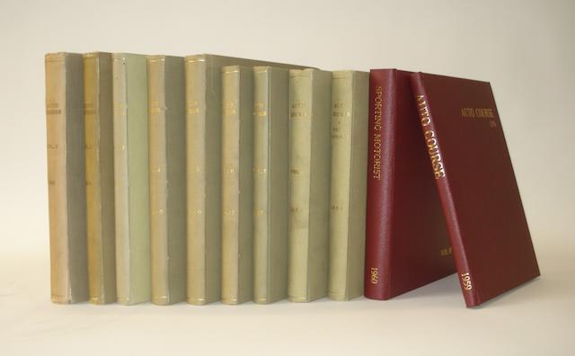 Auto Course; Volumes 1 to 10 (1951 to Dec 1960),
