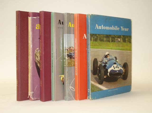 Anuual Automobile Review/Automobile Year; Volumes 1 to 7,
