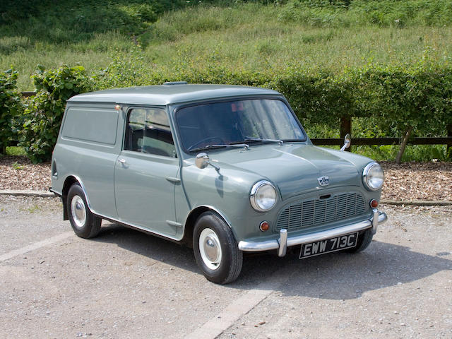 1965 Austin Minivan  Chassis no. AAV7-688824 Engine no. 8AMEAUH880845