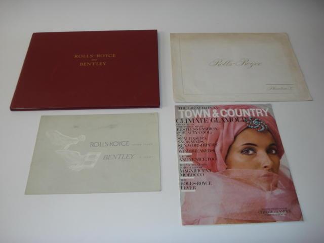 Four Rolls-Royce sales publications,