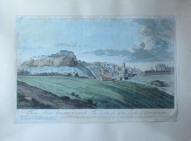 EDINBURGH The Southside of the Castle of Edinburgh