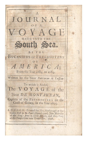 RAVENEAU DE LUSSAN (-) A Journal of a Voyage Made into the South Sea, by the Bucaniers or Freebooters of America in the Year 1684 to 1689