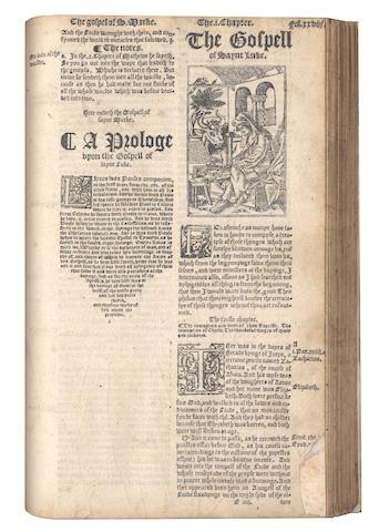 BIBLE, 1549, in English, Matthew version, 1549