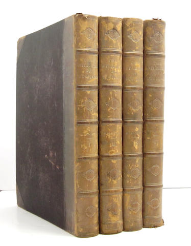 BILLINGS (ROBERT WILLIAM) The Baronial and Ecclesiastical Antiquities of Scotland, 4 vol.