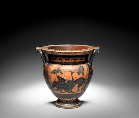 An Attic column krater