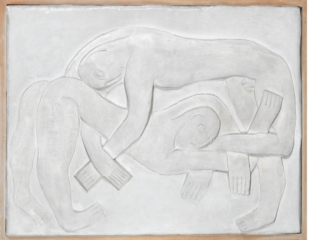 Henri Gaudier-Brzeska (French 1891-1915) The Wrestlers