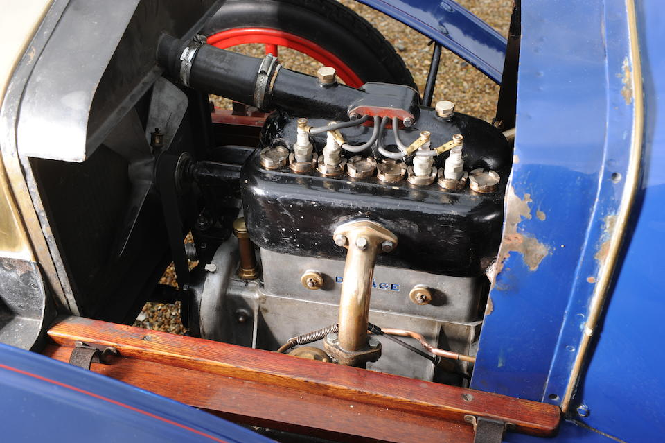1913 Delage Type R4 Two Seater 'Raceabout'  Chassis no. 4297 Engine no. 4035