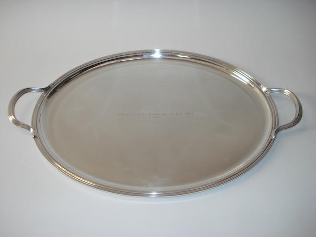 A World Rally Championship salver, 1979,