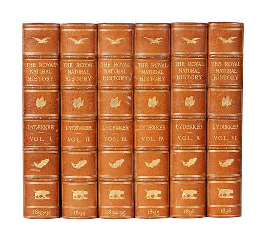 LYDEKKER (RICHARD, editor) The Royal Natural History, 6 vol., 1893-4