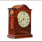 A mid 19th Century mahogany-cased repeater bracket clock  J S McNab, Perth