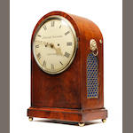 A 19th Century mahogany bracket clock Edward Newman, London
