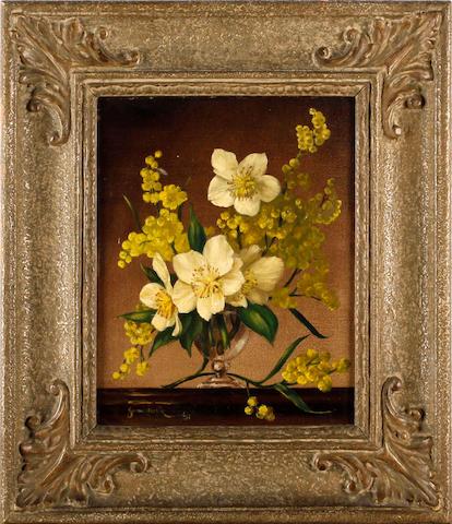 James Noble (British, 1919-1989) 'Xmas Roses'
