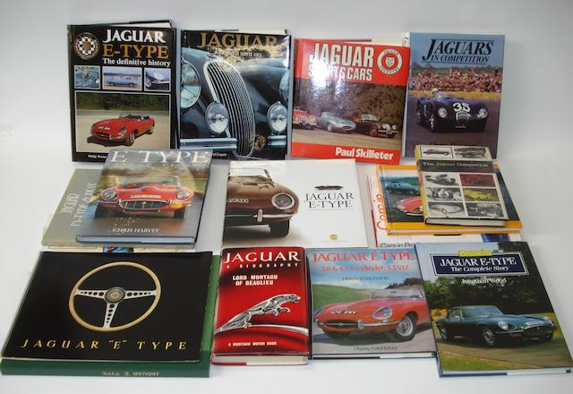 Books relating to Jaguar cars,