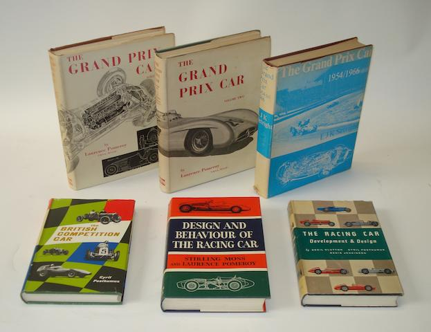 Laurence Pomeroy: The Grand Prix Car; Volumes 1 and 2,