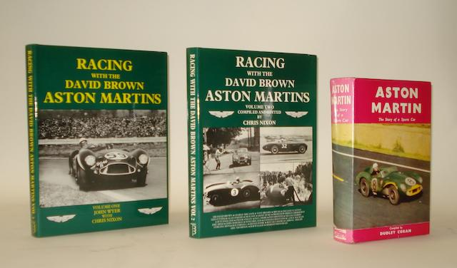 John Whyer & Chris Nixon; Racing with the David Brown Aston Martins; Volumes 1 & 2,