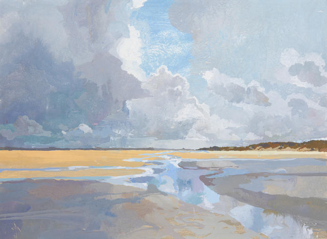 Ruth Stage NEAC (British, born 1969) Sand dunes, Normandy