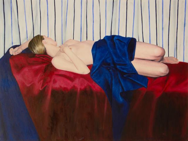 Mark Clark (British, born 1959) Zoe reclining
