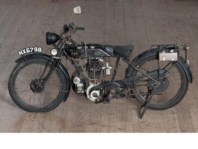 One owner since 1978,C.1924 AJS B5 Frame no. 38700 Engine no. 38700