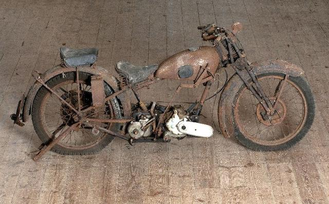 Single family ownership for circa 35 years,1932 James 499cc V-Twin  Frame no. 3388 Engine no. D2428