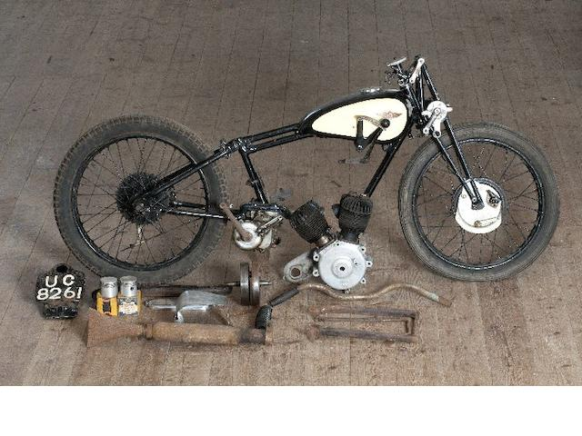 1928 James 500cc V Twin Sports Frame no. DP1733 Engine no. ST1983,