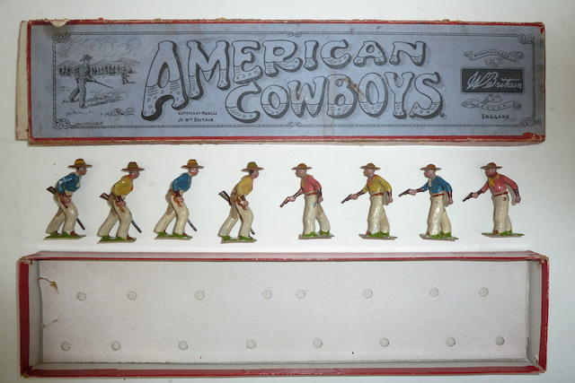 RARE Britains set 183, American Cowboys 8