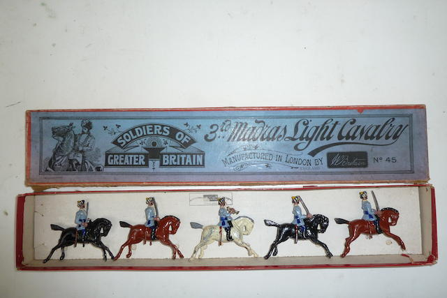 Britains set 45, 3rd Madras Light Cavalry 5