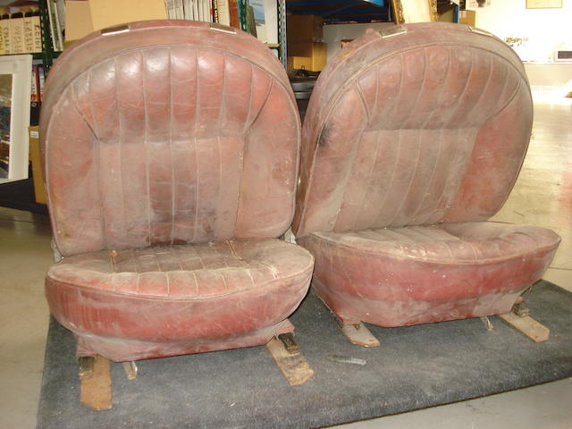 A pair of Aston Martin DB6 seats,