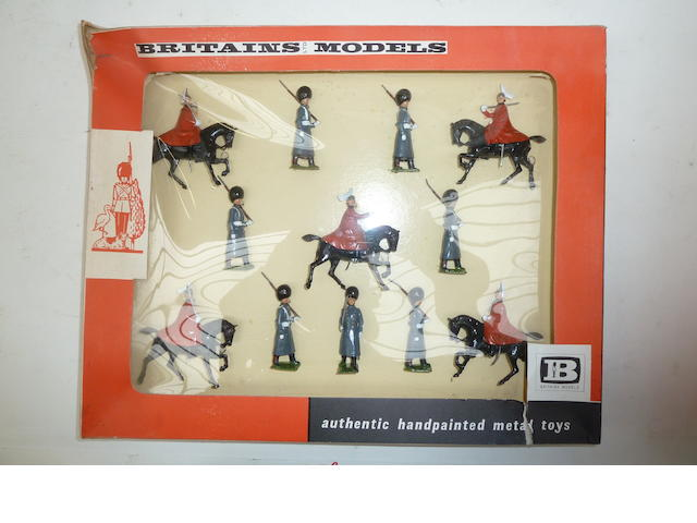 Britains set 9306, Life Guards and Scots Guards, Winter Dress 23