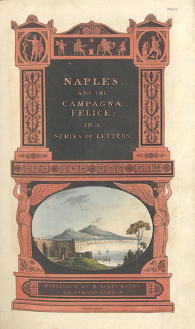 ITALY [ENGELBACH (LEWIS)] Naples and the Campagna Felice, 1815