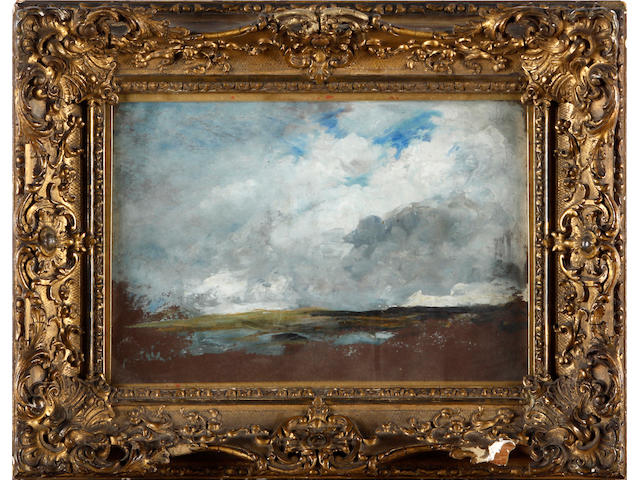 Manner of John Constable 18 x 25.5cm