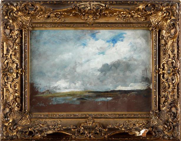 Manner of John Constable 18 x 25.5cm